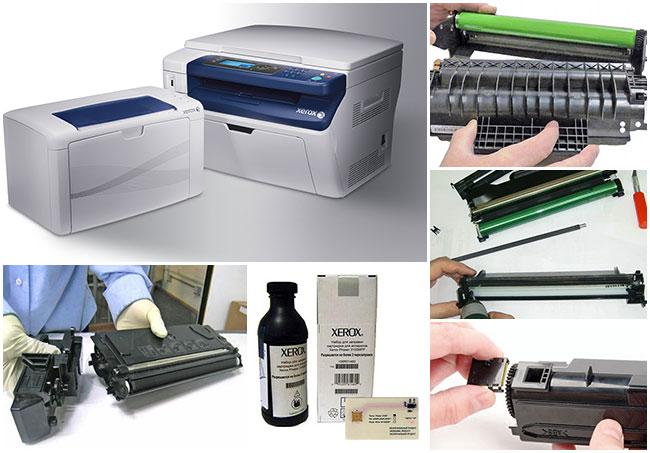 Xerox phaser 3117 заправка картриджа своими руками 56