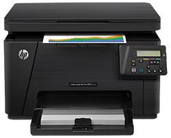Заправка картриджей для HP Color LaserJet Pro MFP M176